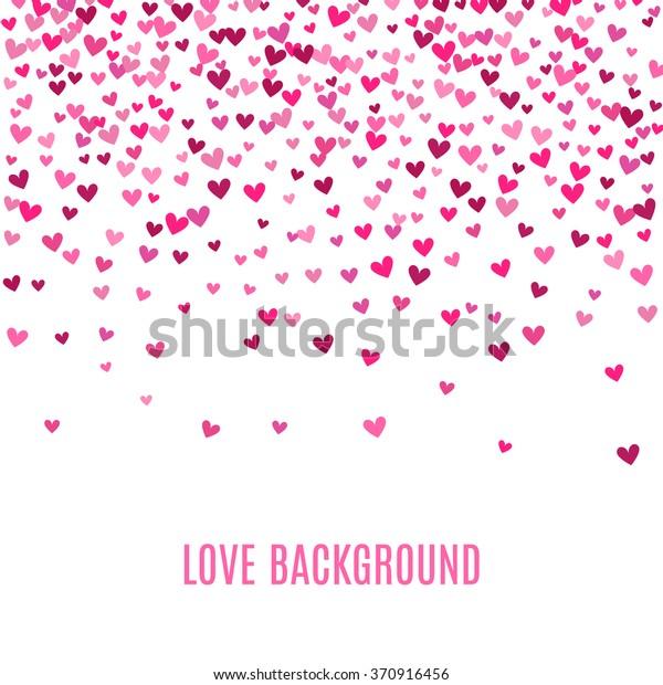 Image Vectorielle De Stock De Arriere Plan Coeur Rose Romantique Illustration Vectorielle 370916456