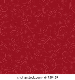 Romantic winter christmas seamless background (EPS10)