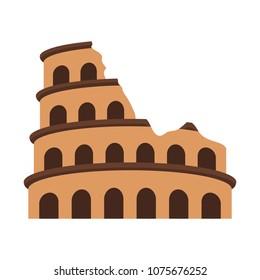 Rome coliseum monument