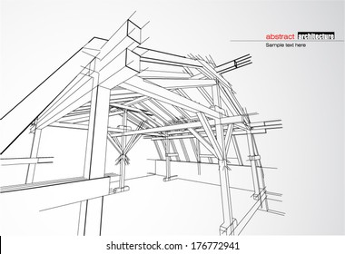 Architecture Roof Drawing Images Stock Photos Vectors Shutterstock