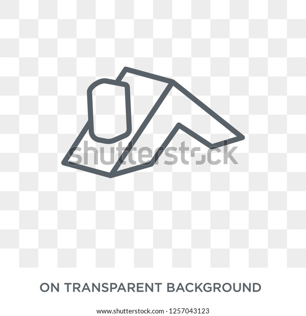 Roof Icon Roof Design Concept Collection Stock Vector Royalty Free 1257043123