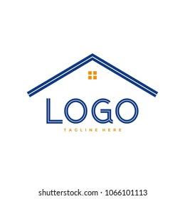 Roof Logo Vector Design