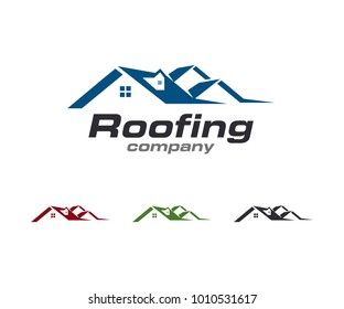 Roof Property Logo Template