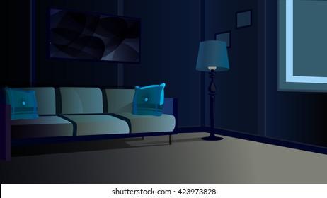room night window