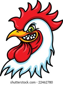 Rooster to be used as a mascot