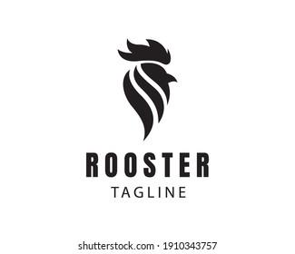 rooster logo black rooster logo simple rooster logo design