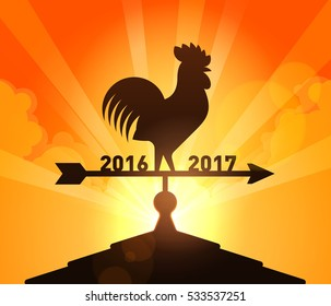 Rooster, New Year 2017 Chinese Zodiac