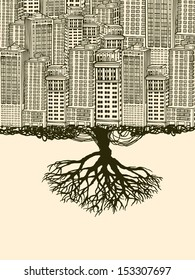 Root of the Big City.