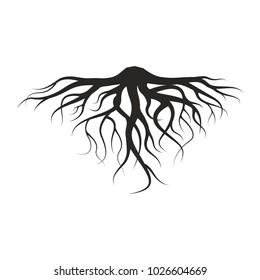 Roots Illustration  of tree