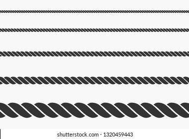 rope icon vector