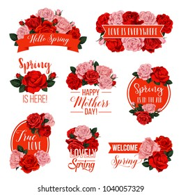 Anzac Day Badge Set Red Poppy Stock Vector Royalty Free 1019860549