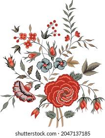 Rose flower vintage pink Baroque Victorian floral ornament frame border golden leaf scroll engraved pattern decorative design tattoo botany filigree calligraphic vector