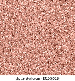Rose gold background of glitter seamless pattern texture vector.