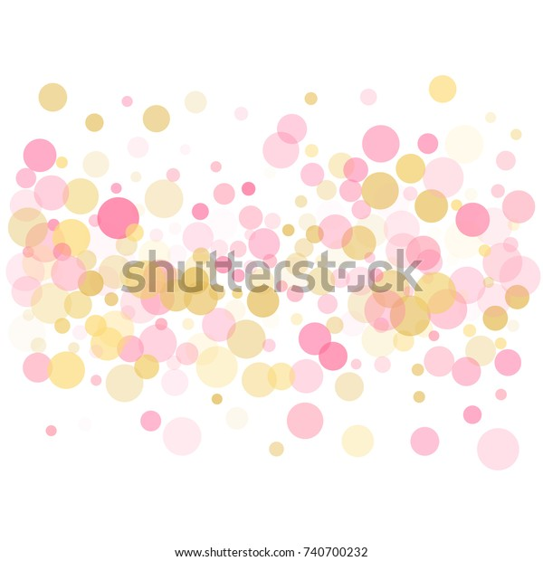 Abstract Pink Circles Personalised House Number Plaque Weatherproof