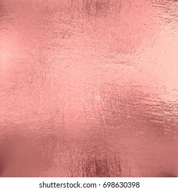 Rose Gold foil texture background, vector illustration