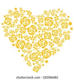 rose Heart mark