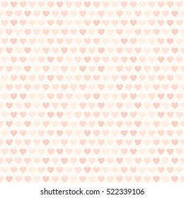 Rose heart pattern. Seamless vector love background