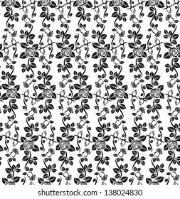 rose pattern seamless