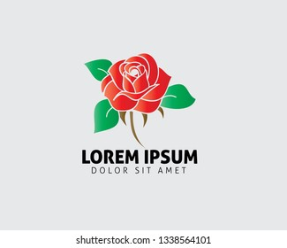 Rose Vector Logo