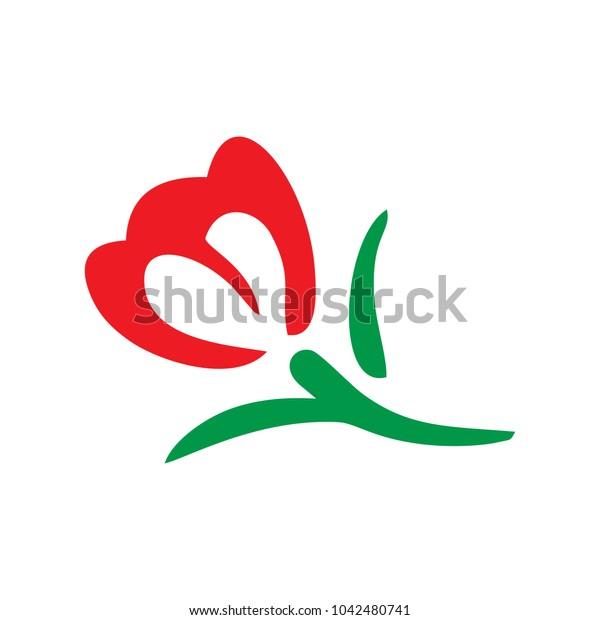 roses vector logo