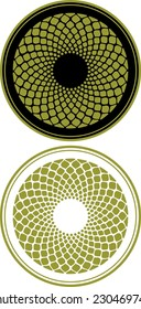 Rosette-design element