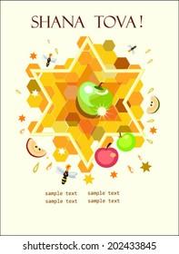 rosh hashana,jewish new year,holiday background.