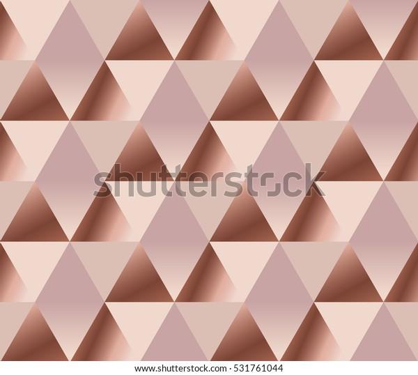 Rosy Tender Elegant Abstract Repeatable Motif Stock Vector