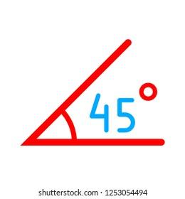 rotation angle icon
