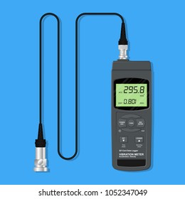 rotor probe fix speed tool motor test meter sensor pump check fault repair worker safety detect inspect device control tester digital display defect measure monitor factory analyze balance machine