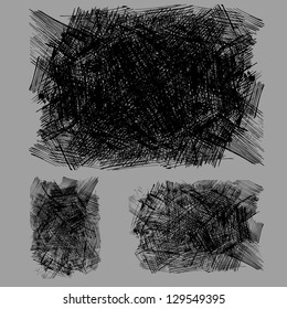 rough hatching drawing texture