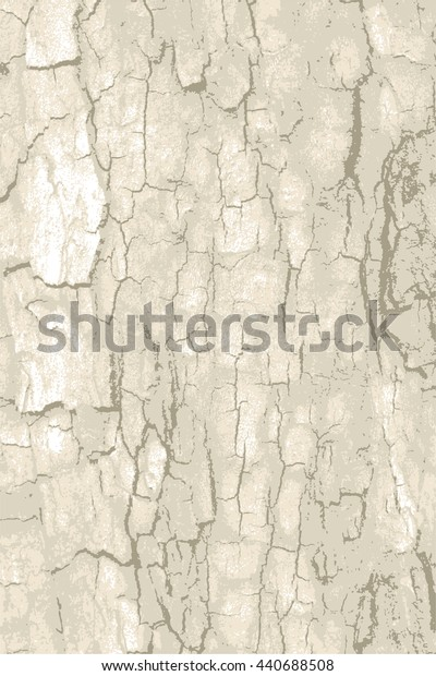 Rough natural tree bark wood with cracks, speck, splinter, branch knot and twigs grunge background  texture pattern for vintage design