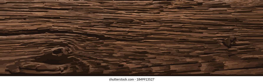Rough splintered neutral reclaimed wood surface with aged boards lined up. Wooden planks on a wall or floor with grain and texture. Dark vintage wood planks background.