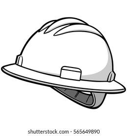 Roughneck Hard Hat Illustration