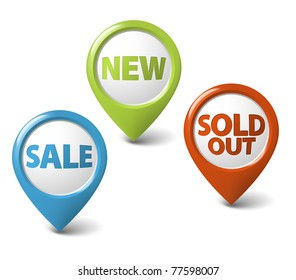 Round 3D pointer for big sale, new and sold out items