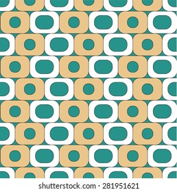 Round abstract background pattern design for wallpaper, decoration and other design needs.