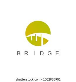 Round bridge logo