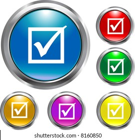 Round Check Mark Buttons