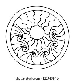 Paisley Coloring Pages Images Stock Photos Vectors Shutterstock