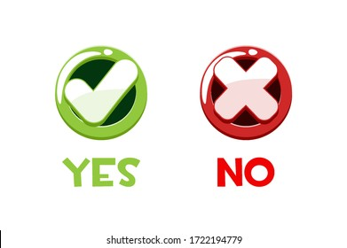 Yes No Clipart High Res Stock Images Shutterstock