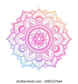 Mandalas Para Colorear Imagenes Fotos De Stock Y Vectores