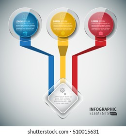 Round Infographic Chart Business