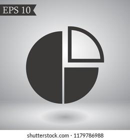 round interest vector icon 10 eps
