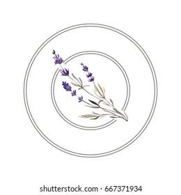 round lavender logo