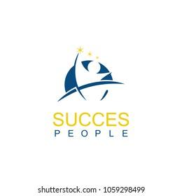 round people succes logo