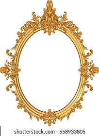 Gold Ornate Mirror Images Stock Photos Vectors Shutterstock