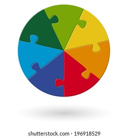 Round Puzzle - 7 options