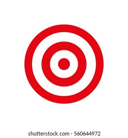 Round target dartboard icon vector illustration graphic design