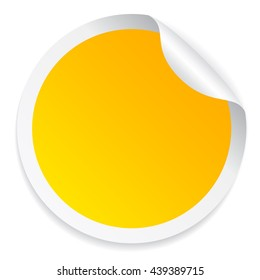 Yellow Stickers Hd Stock Images Shutterstock