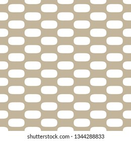 rounded abstract shameless vector pattern