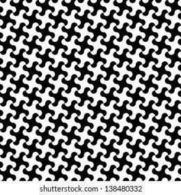 Rounded Hounds Tooth Pattern